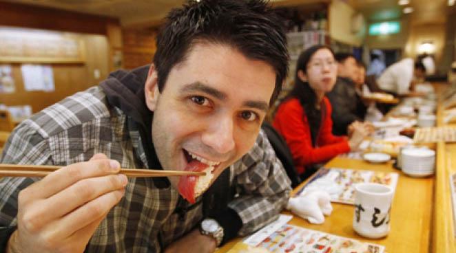 sushi human