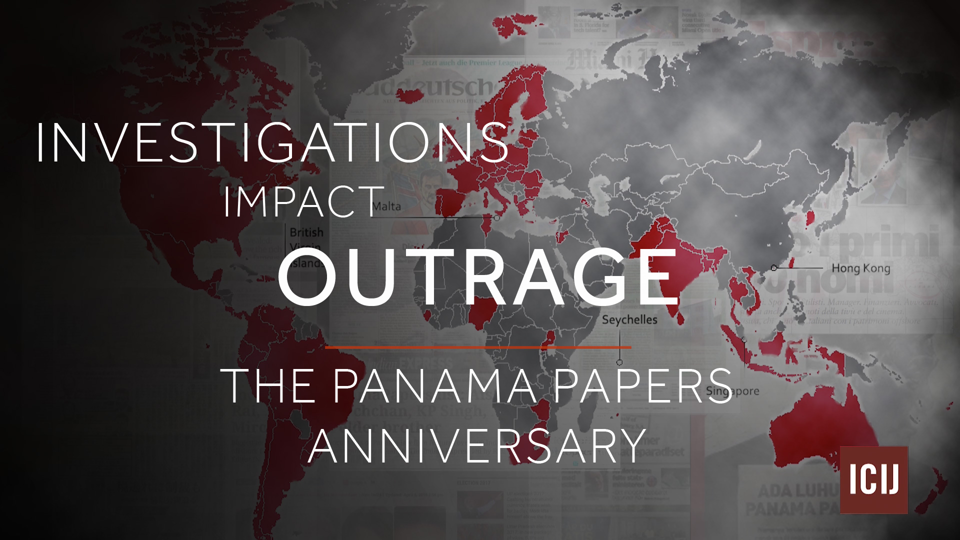 Panama Papers anniversary video