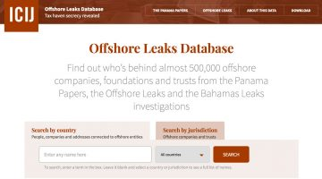 Click to explore the Offshore Leaks Database