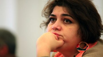 Investigative reporter Khadija Ismayilova