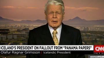 Iceland's President Ólafur Grímsson on CNN