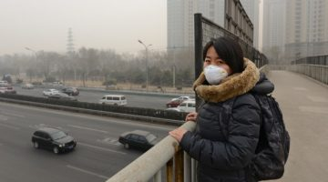 Air pollution in China has been linked to deaths by a new WHO report