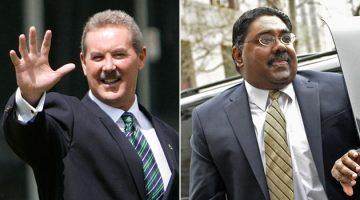 Used offshore havens: Allen Stanford and Raj Rajaratnam