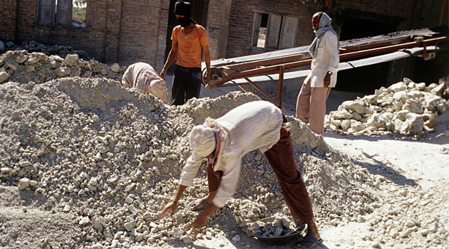 Banned or restricted in 52 countries, asbestos use is growing quickly in developing countries like India