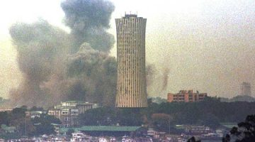 Bombardment by government forces killed thousands in Brazzaville during the Republic of Congo civil war in 1997