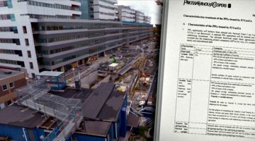 Secret documents show the complex finances behind a new hospital construction in Sweden