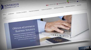 Sovereign Management & Legal Ltd's website