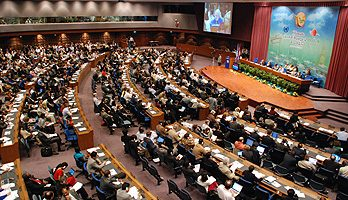 Talks at Bangkok's United Nations Conference Center
