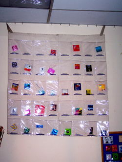 Condom samples at the Bangkok headquarters of the Rainbow Sky Association, an NGO that works with MSM (men who have sex with men) groups