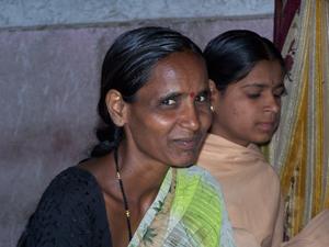 Sushila Kunde helps organize activities for rural women in her SANGRAM group
