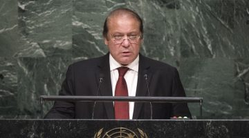 Nawaz Sharif has been indicted
