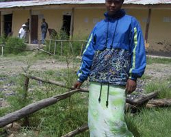 Sixteen-year old Yeshiwork Gashaw participates in a PEPFAR-funded abstinence-focused course