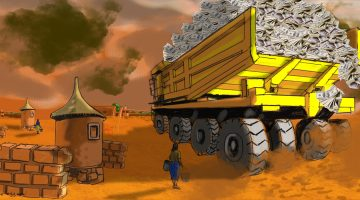 Burkina Faso has not felt the benefits of mining organizations such as Glencore.