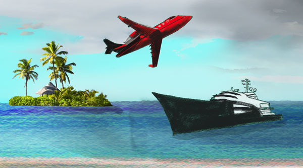 Jets and yachts in the Paradise Papers