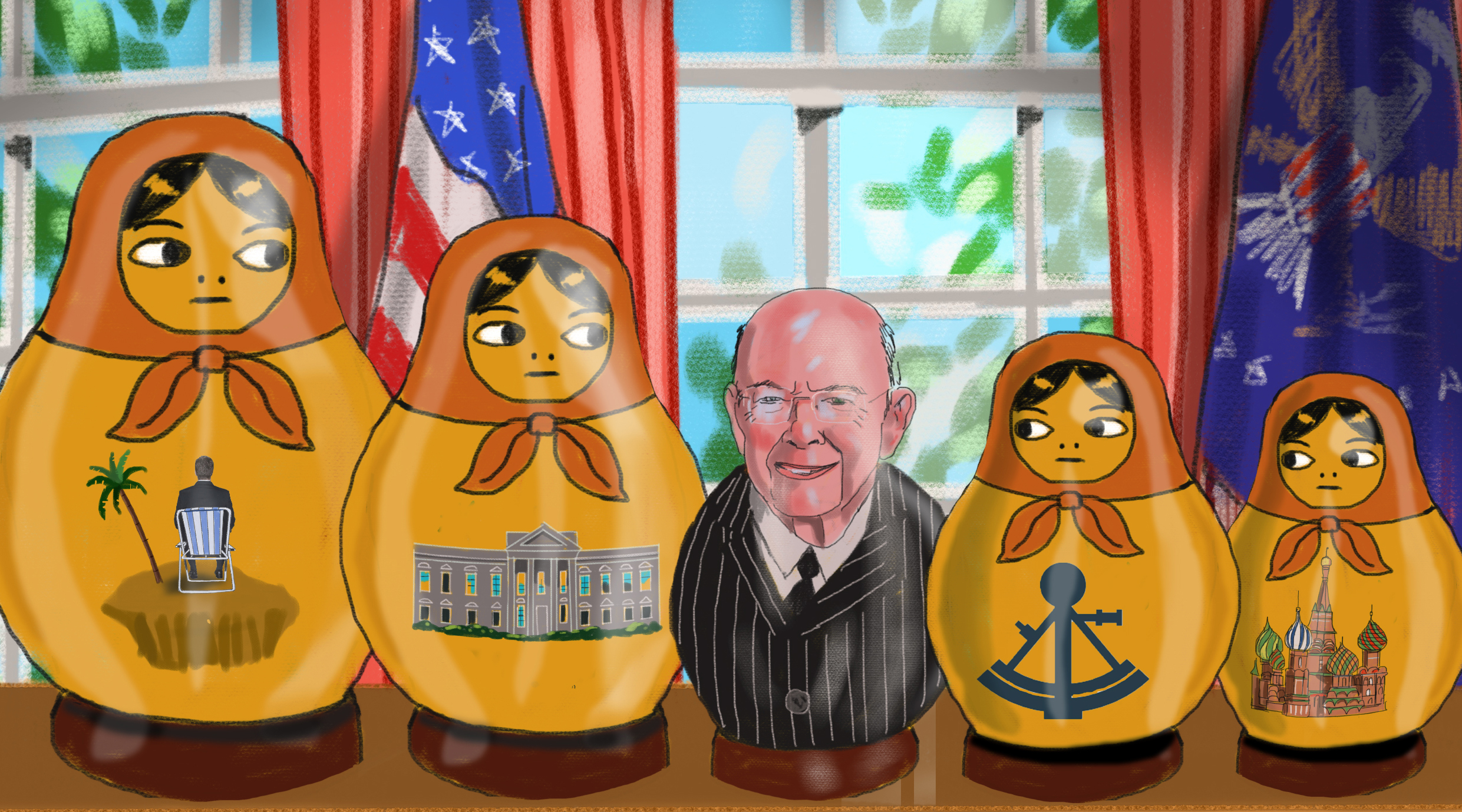 Wilbur Ross was found in the Paradise Papers leak.