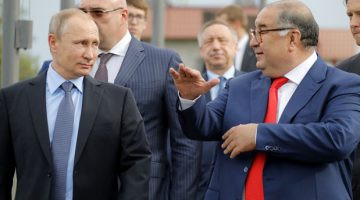 Putin and Usmanov