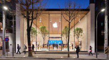 Apple's new Korean store