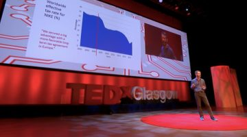 Simon Bowers at TedX Glasgow