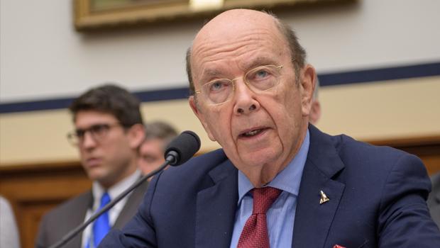 U.S. Commerce Secretary Wilbur Ross at a recent NASA hearing