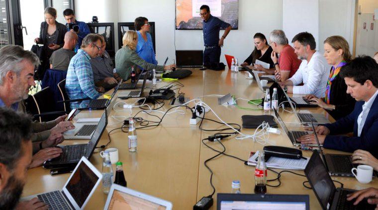 ICIJ data meeting