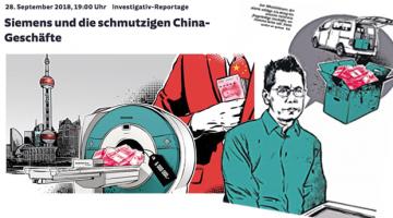 Süddeutsche Zeitung's investigation into Siemens corruption