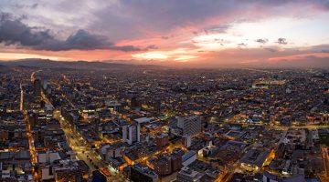 Bogota city, Colombia