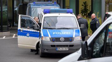 German police raid Deutsche Bank