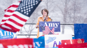 Presidential Hopeful Amy Klobucher