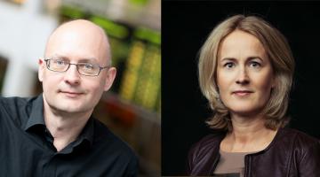 Kjell Lindroos and Minna Knus-Galán