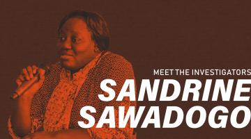Meet ICIJ member SAndrine Sawadogo