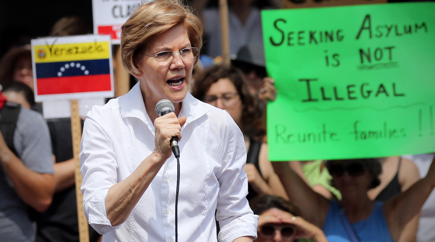 US Democratic Senator Elizabeth Warren