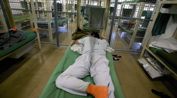 Detainee in an ICE immigration center