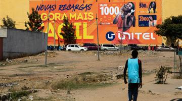 Unitel sign in Angola