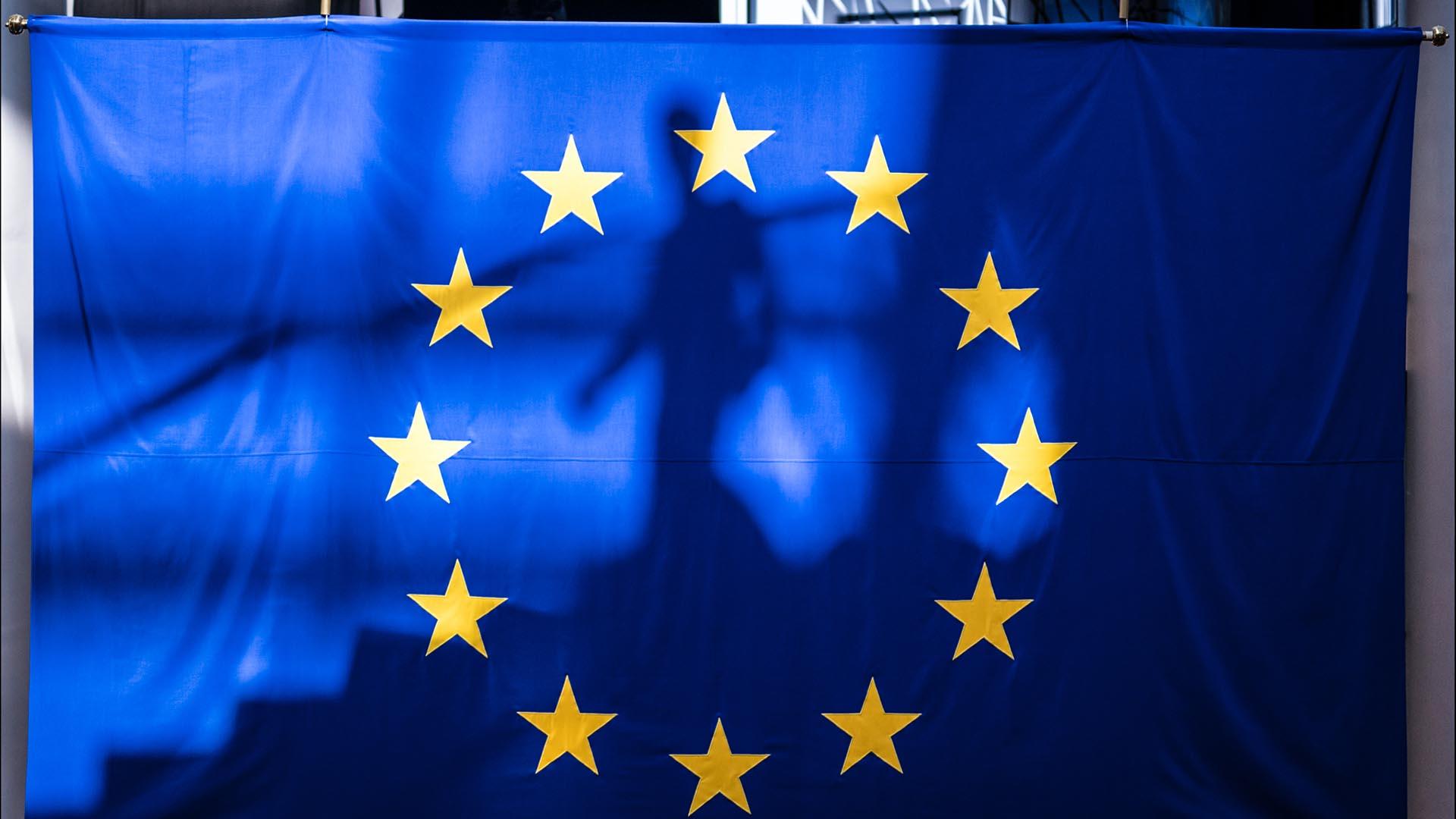 European Parliament EU flag