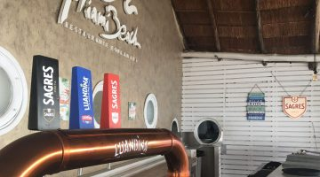 beers on tap at miami beach bar in luanda, angola