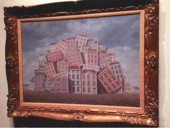 Rene Magritte's La Poitrine