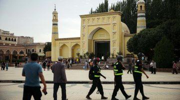 Id Kah Mosque in Kashgar, Xinjiang