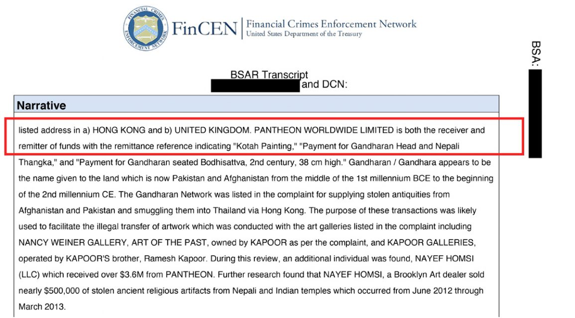 sar from fincen files
