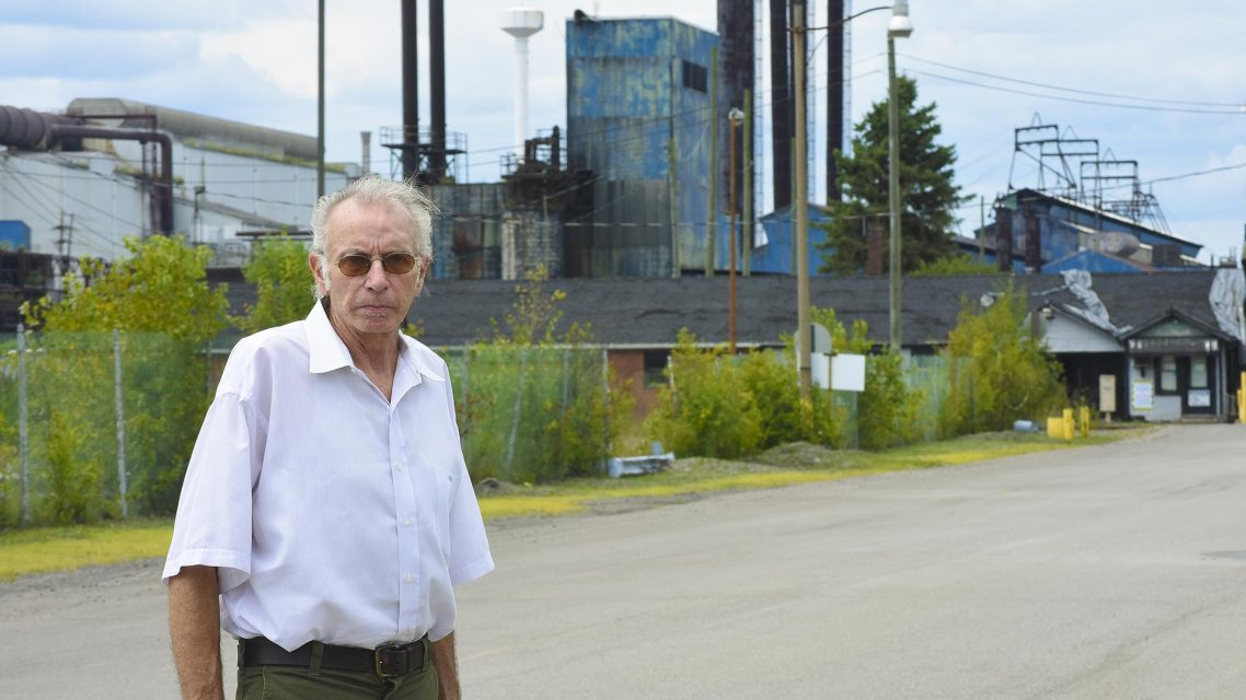 Retired steelworker William Norman
