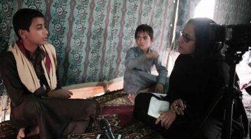 Maggie Michael interviews child soldiers in Yemen