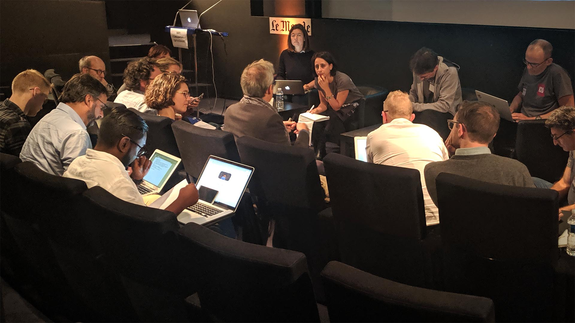 ICIJ team meeting