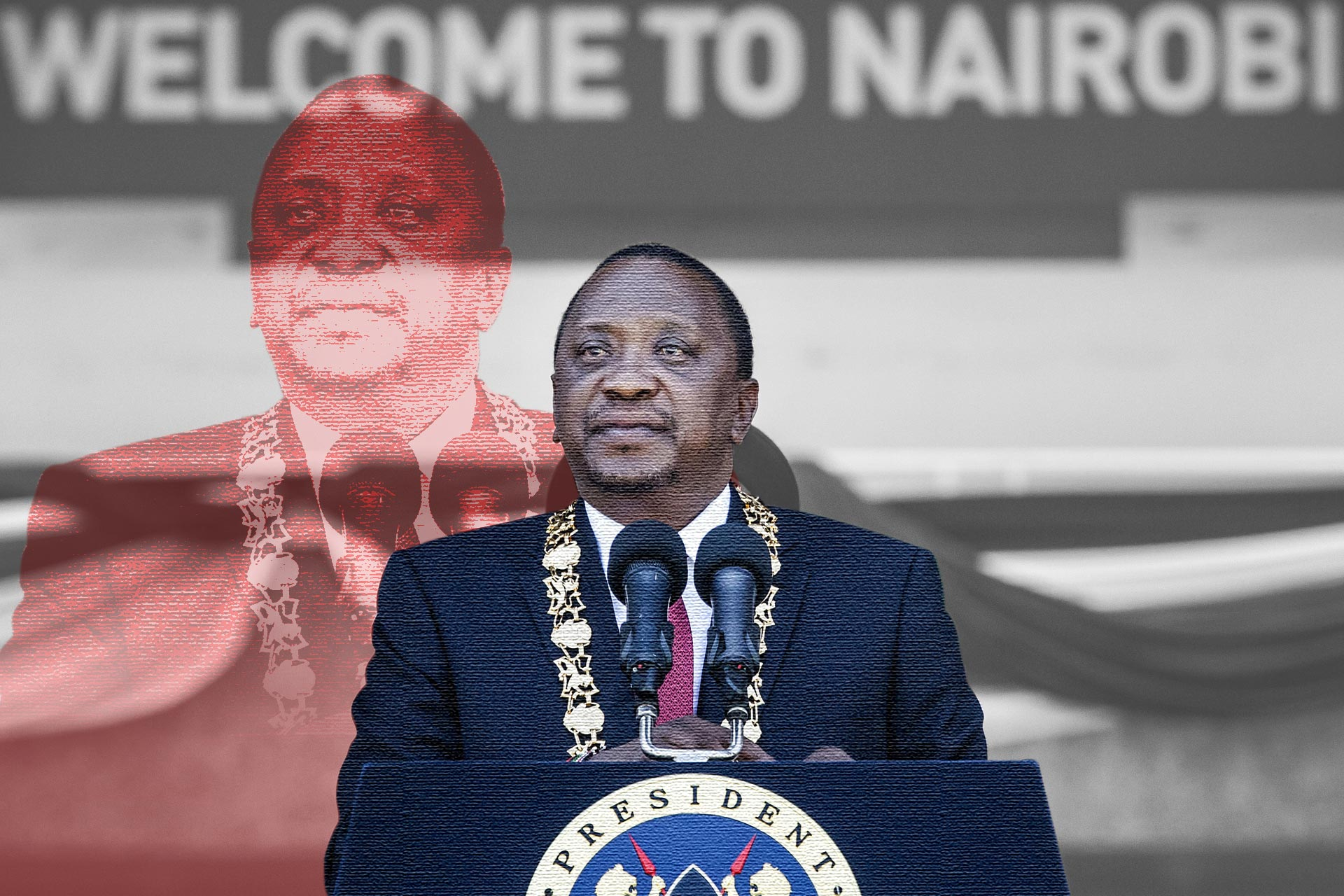 As Kenyan president mounted anti corruption comeback, his family's ...