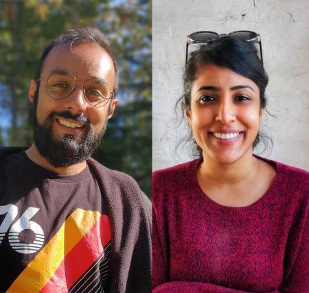Filmmakers Sushmit Ghosh and Rintu Thomas.