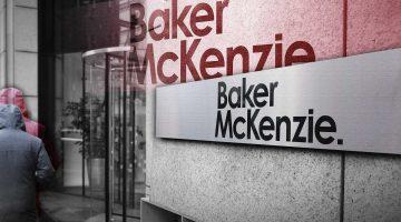 Law firm Baker McKenzie.