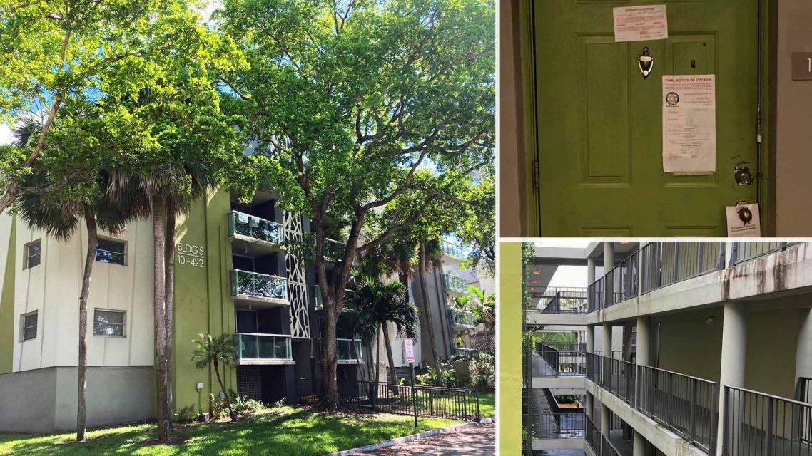 Apartment complex in Florida
