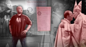 An evicted tenant, eviction notice and Marcial Maciel