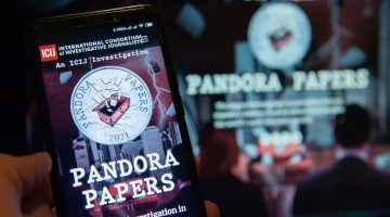 Pandora Papers on screen
